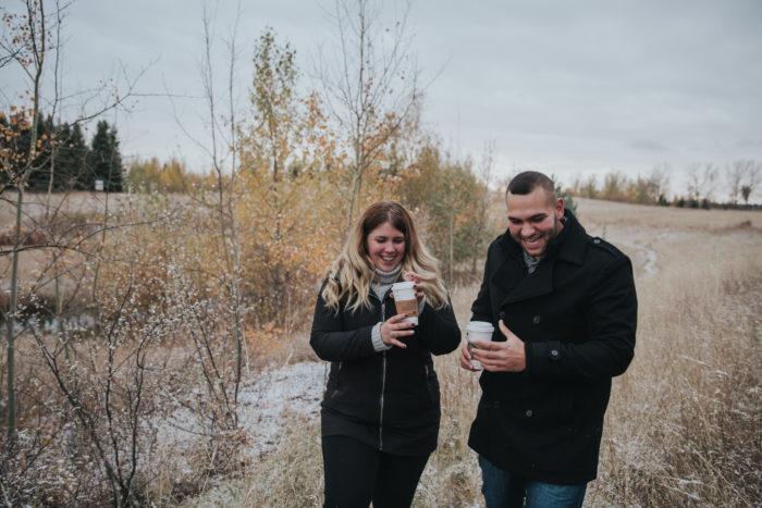 Orysia's Proposal in Calgary, Alberta