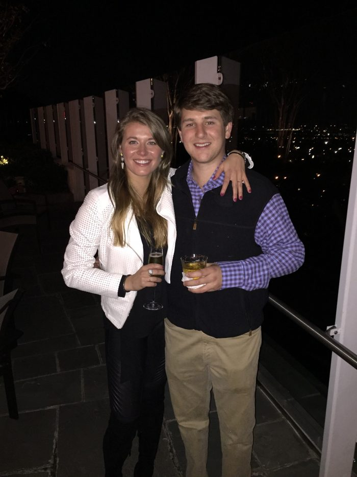 Marriage Proposal Ideas in The Club atop Red Mountain in Birmingham, AL