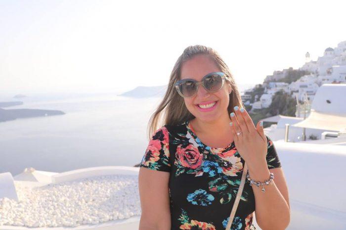 Devin and Robert's Engagement in Santorini, Greece
