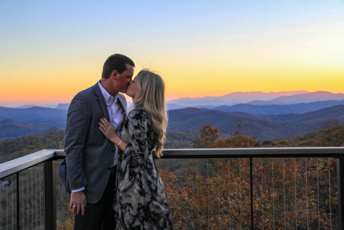 Where to Propose in Linville Ridge Country Club