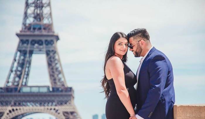 Harpreet and Camille's Engagement in Paris, France