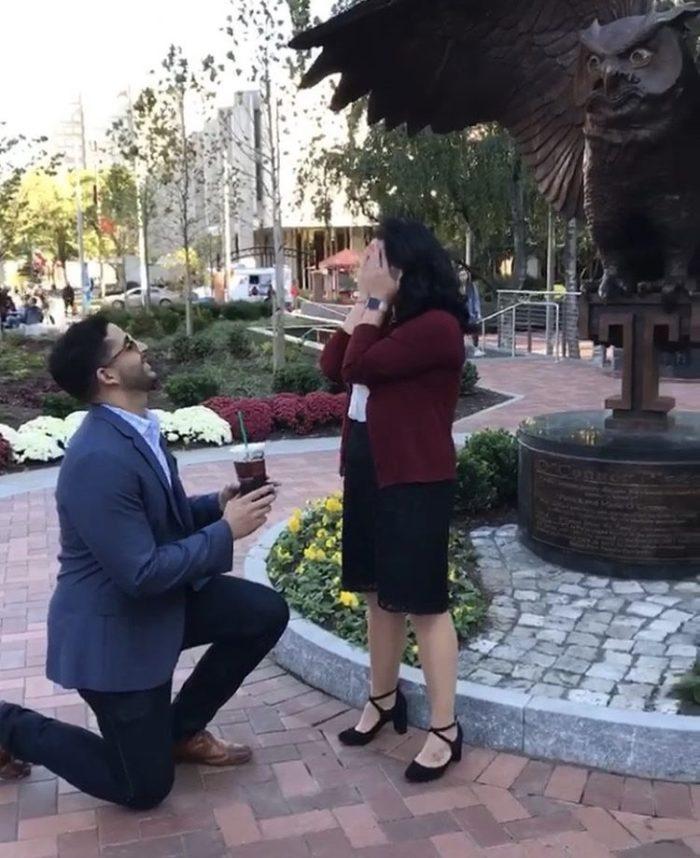 Wedding Proposal Ideas in Temple University