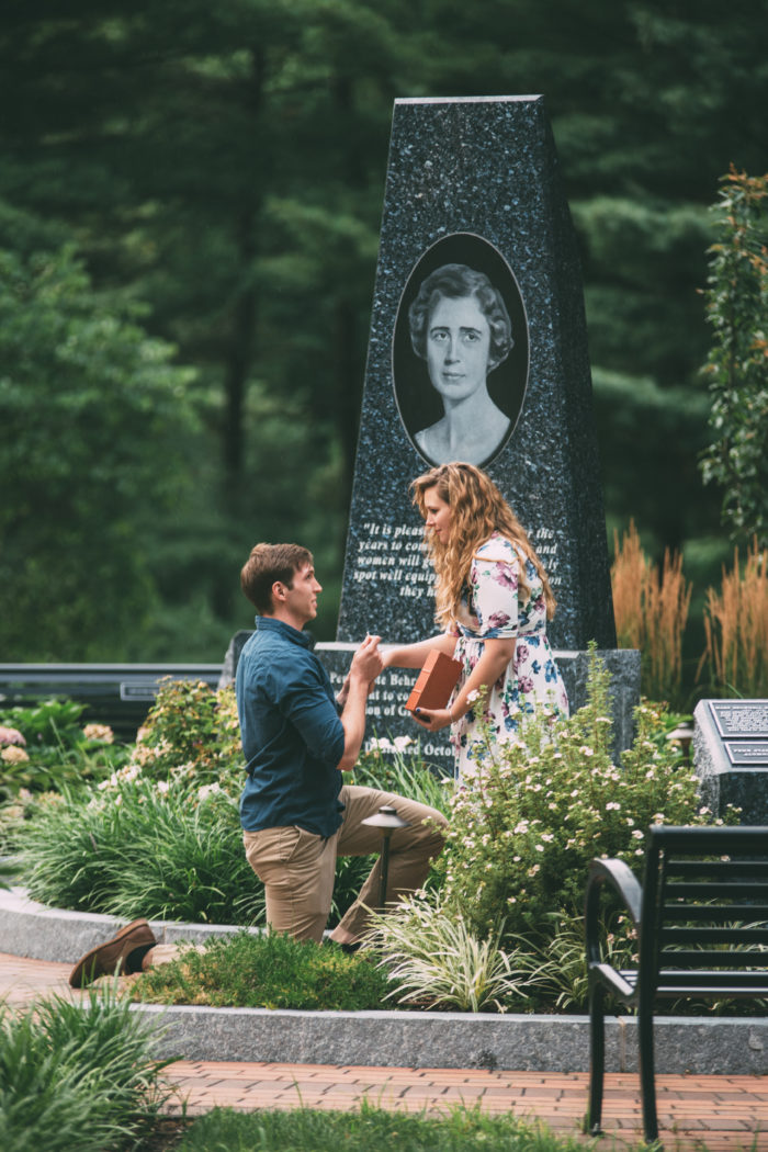 Niky's Proposal in Penn State Behrend Erie PA