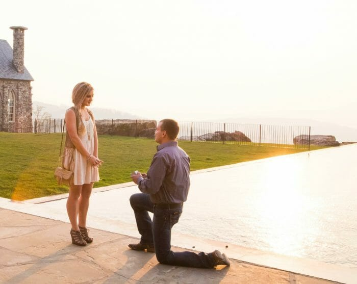 Engagement Proposal Ideas in Top of The Rock - Ridgedale, MO
