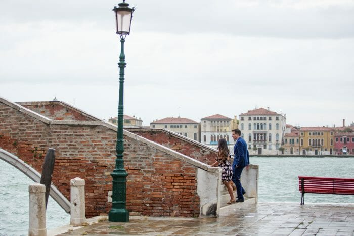 Mia and Tom's Engagement in Venice, Italy