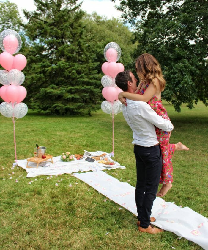 Wedding Proposal Ideas in Maisonneuve Park, Montreal, Quebec, Canada