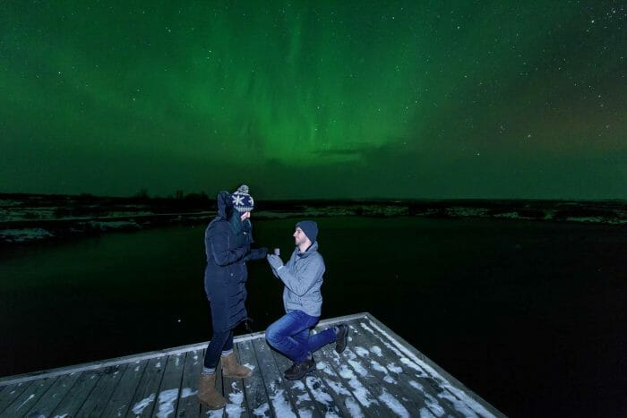 Sarah's Proposal in Þingvellir National Park, Iceland