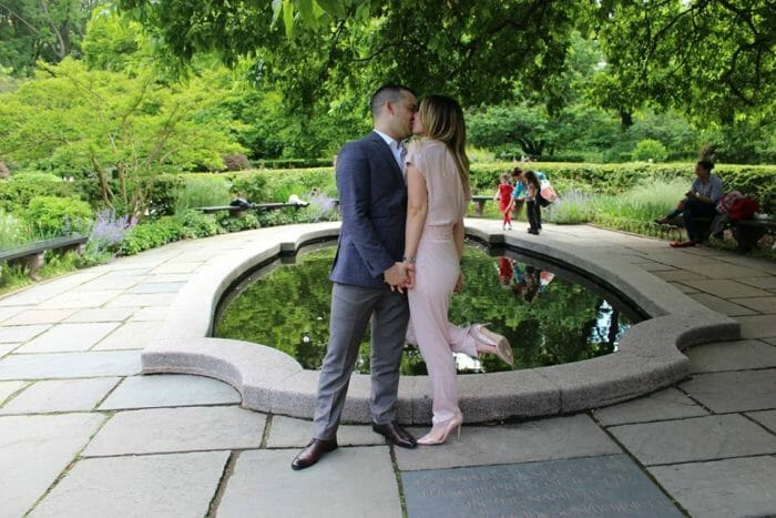 Where to Propose in New York City - Conservatory Garden