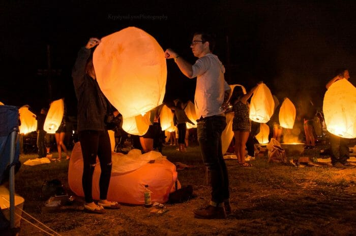 Couttney and Cody's Engagement in The Lantern Festival