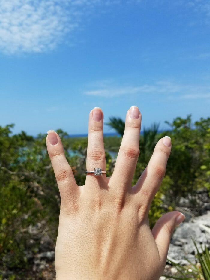 Engagement Proposal Ideas in Half Moon Cay in the Bahamas