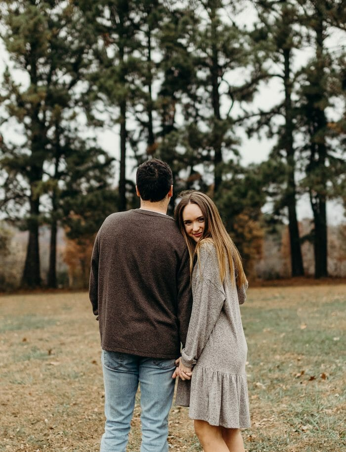 Shelby and Brooks's Engagement in Fayetteville, AR