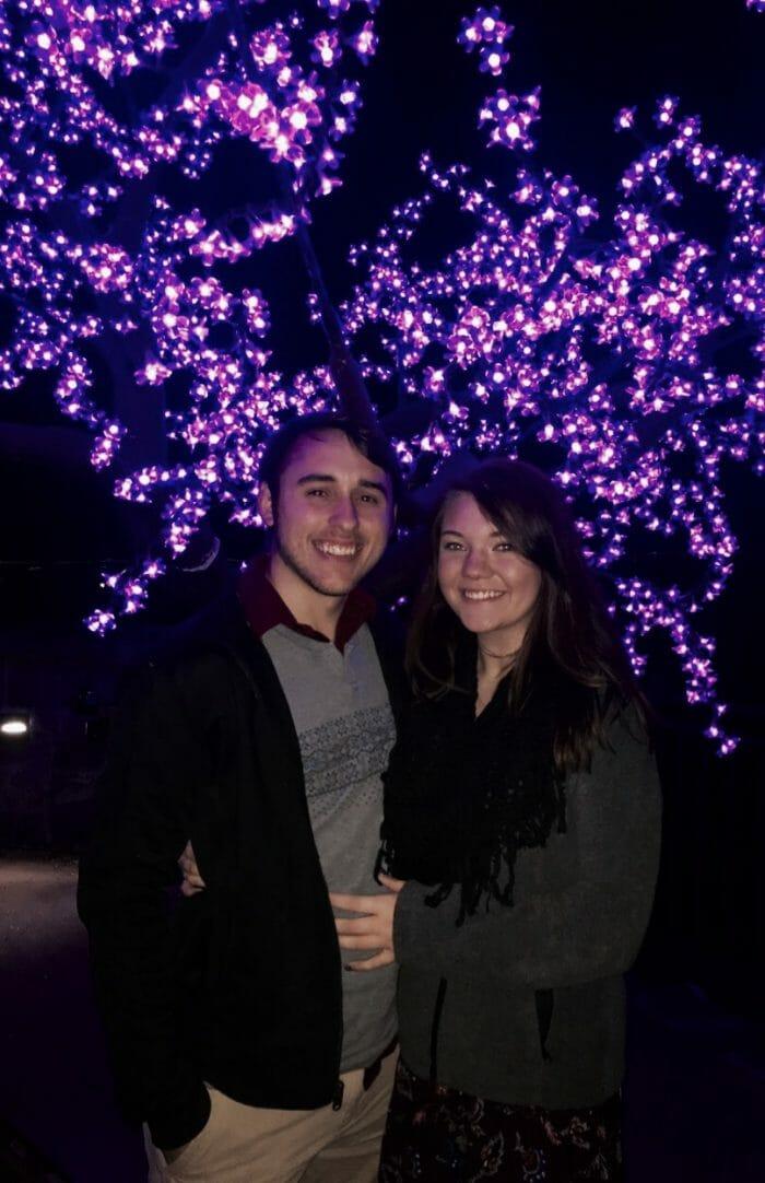 Elise and Aaron's Engagement in Atlanta Botanical Gardens