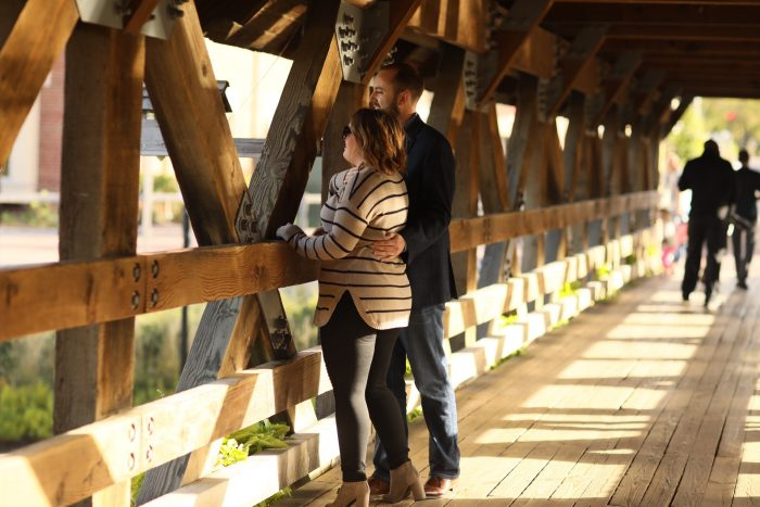 Wedding Proposal Ideas in Riverwalk in Naperville, il