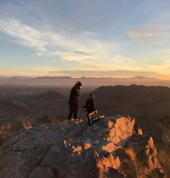 Wedding Proposal Ideas in Piestewa Peak, Arizona