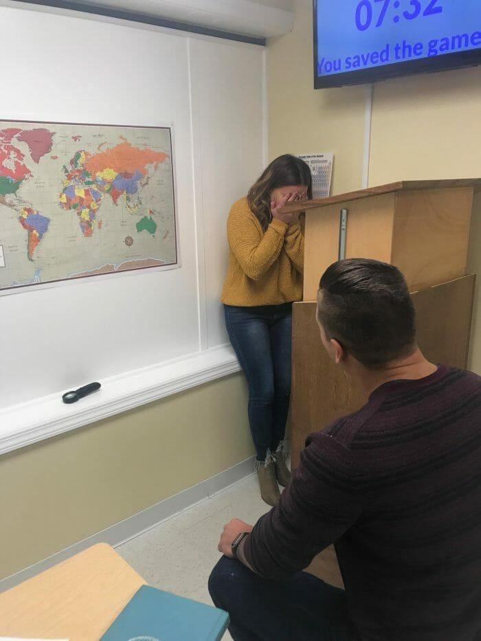 Emily's Proposal in Solve It Escape Rooms, Vernon NJ