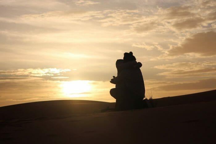 Anna's Proposal in Sahara Desert, Morocco
