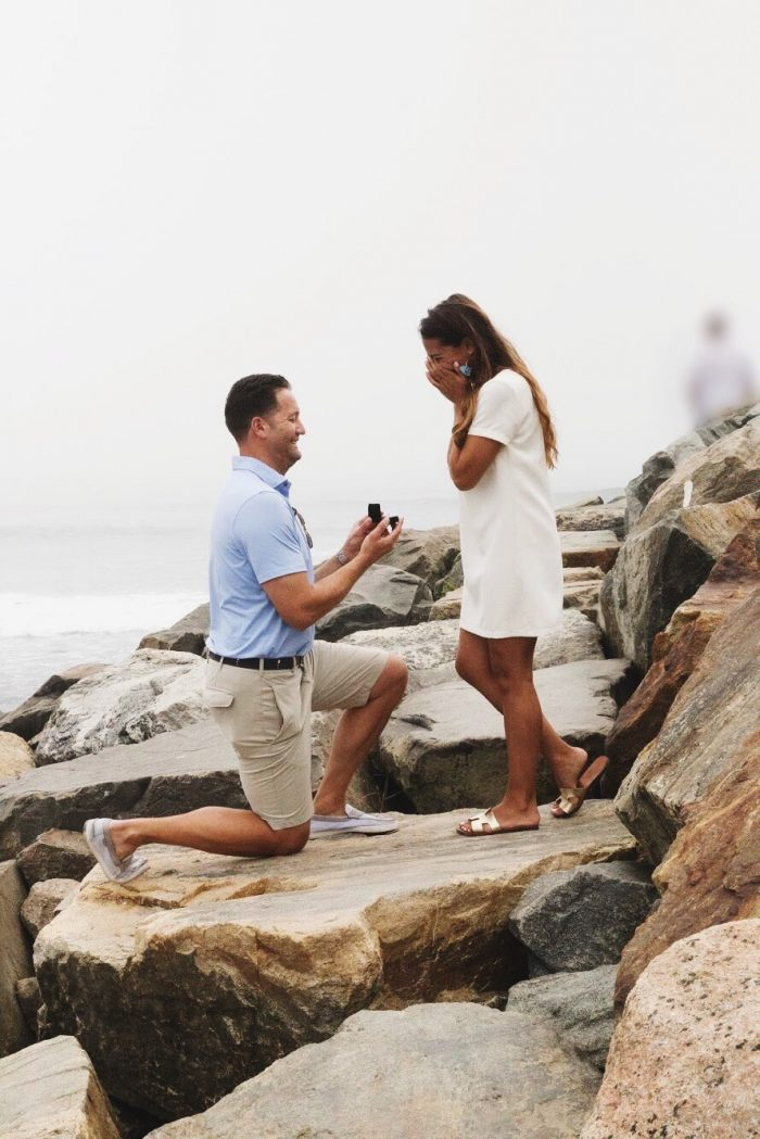 Ashley's Proposal in Montauk, NY