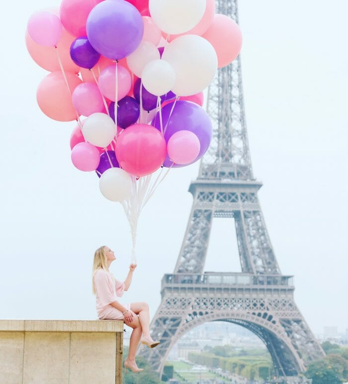 Mallory and Britton's Engagement in Paris, France