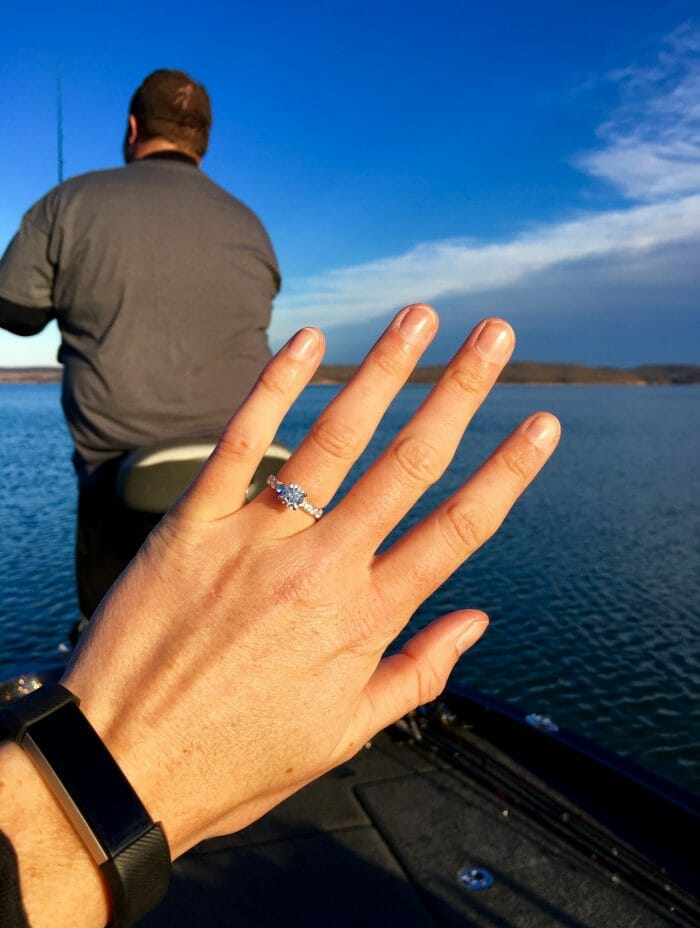 Shelby and Ben's Engagement in Kentucky Lake