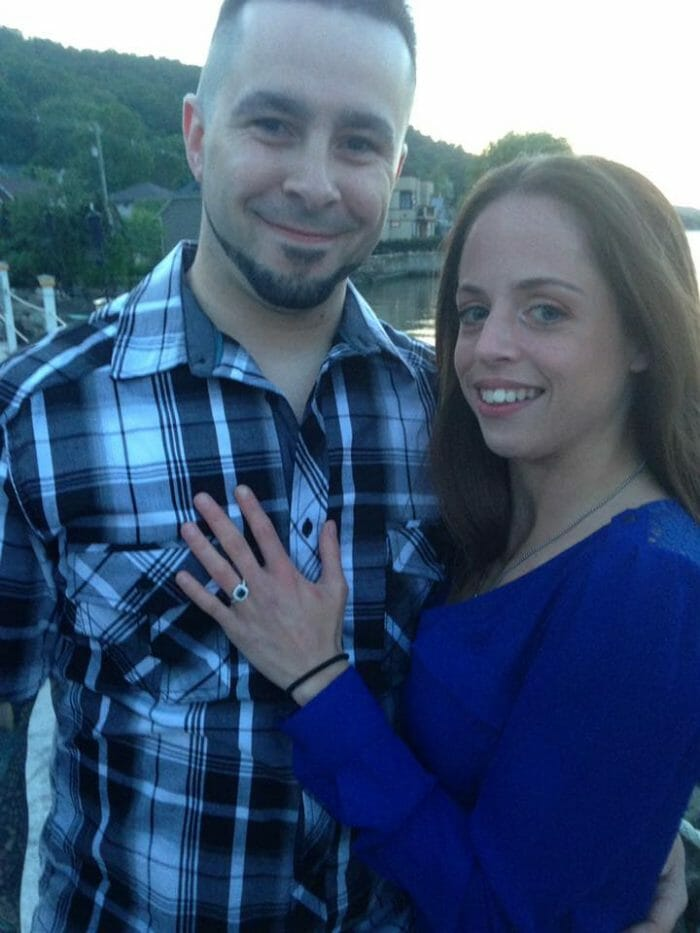 Shannon's Proposal in Pier 701 Restaurant Piermont, NY