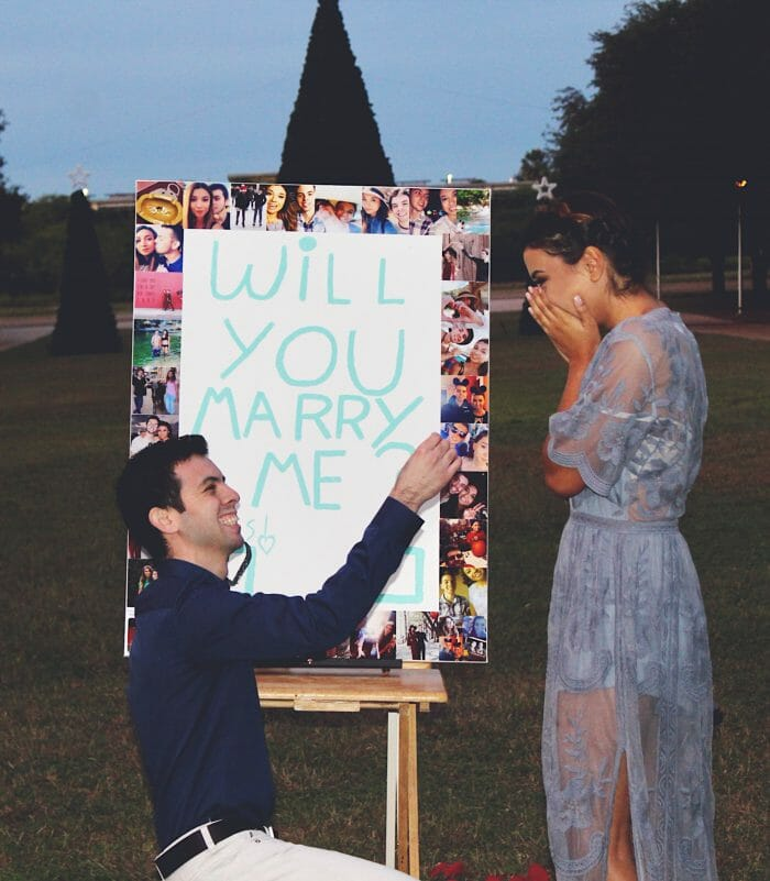 Marriage Proposal Ideas in Our University (Texas A&M International University)