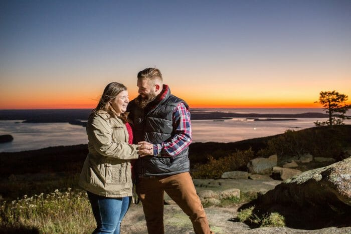 Proposal Ideas Cadillac Mountain Acadia National Park