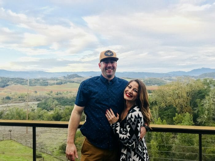 Where to Propose in Melanie's parents house in Healsdburg Ca