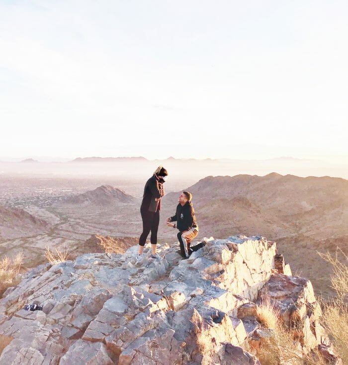 Marriage Proposal Ideas in Piestewa Peak, Arizona
