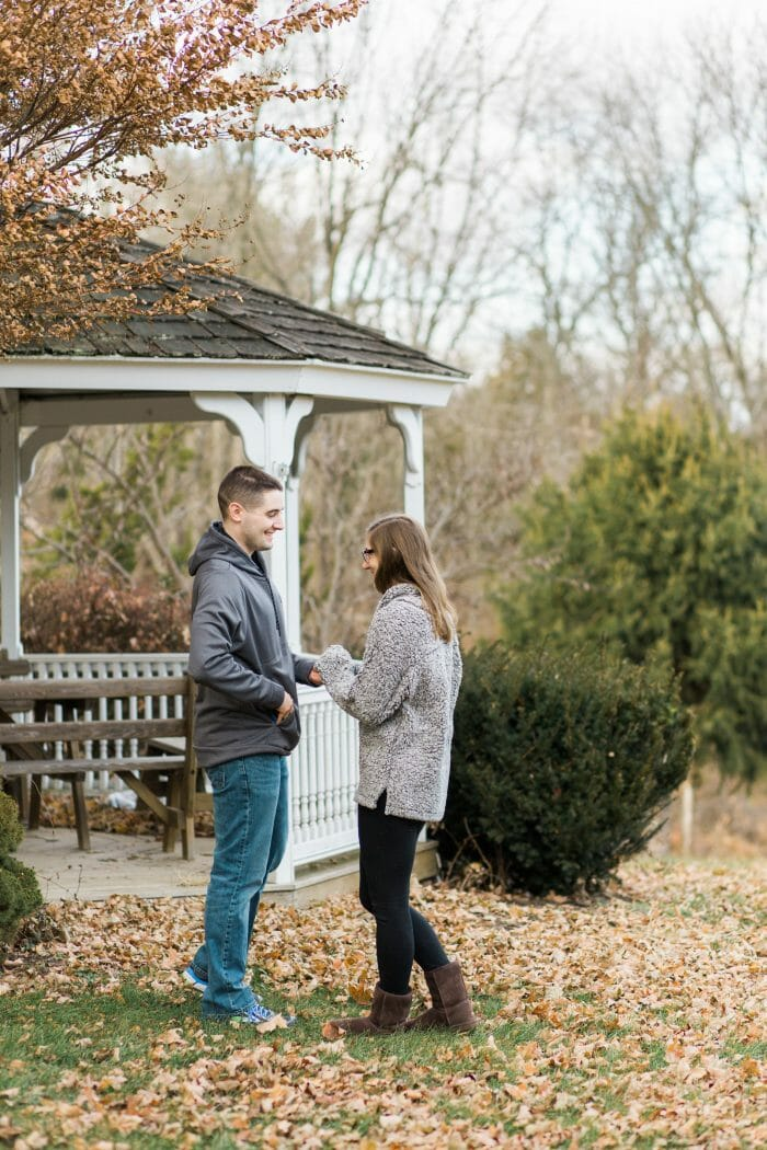 Proposal Ideas At my fiancé's house in Howard County Maryland