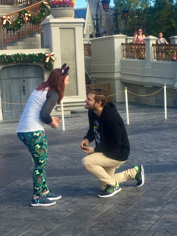 Proposal Ideas Magic Kingdom