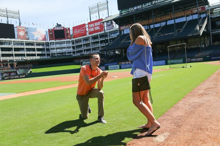 Proposal Ideas Globe Life Park in Arlington, TX