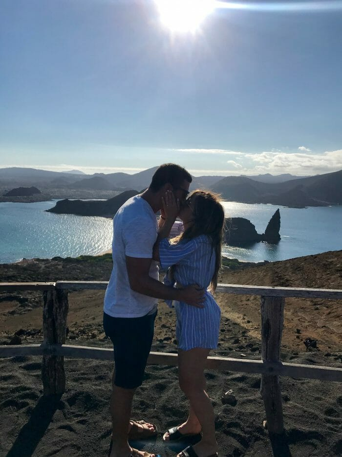 Jessalyn's Proposal in Bartolomé Island in the Galápagos Islands