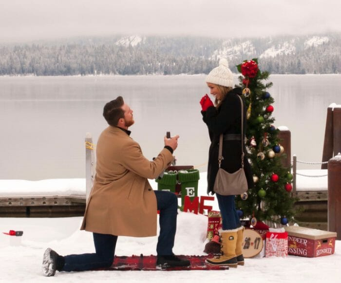 Marriage Proposal Ideas in McCall, Idaho