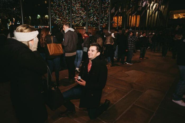 Mikala and Michael's Engagement in New York City - Rockefeller Center