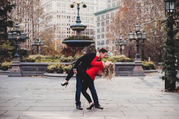 Mikala's Proposal in New York City - Rockefeller Center