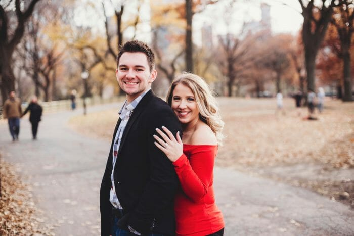 Wedding Proposal Ideas in New York City - Rockefeller Center