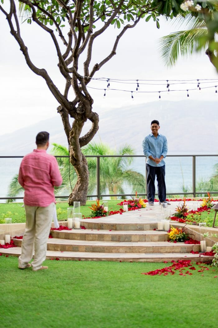 Where to Propose in Four Seasons Maui