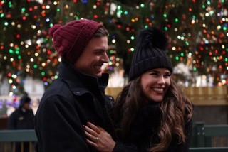 Allie's Proposal in New York City - Rockefeller Ice Rink