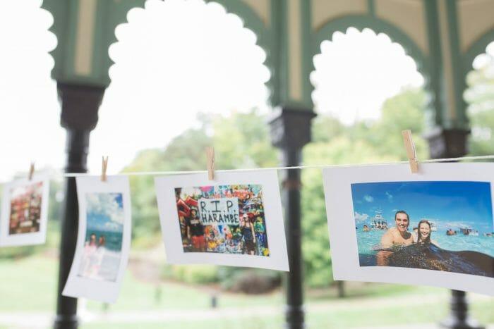 Catherine and Ryan's Engagement in Eden Park in Cincinnati Ohio