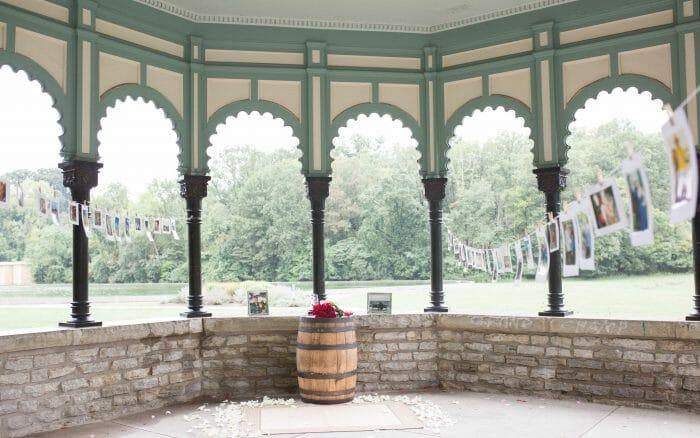 Marriage Proposal Ideas in Eden Park in Cincinnati Ohio