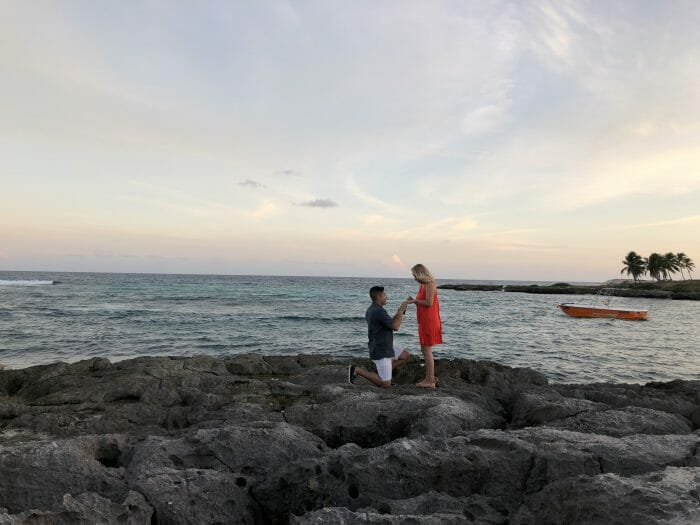 Engagement Proposal Ideas in Riviera Maya, Cancun