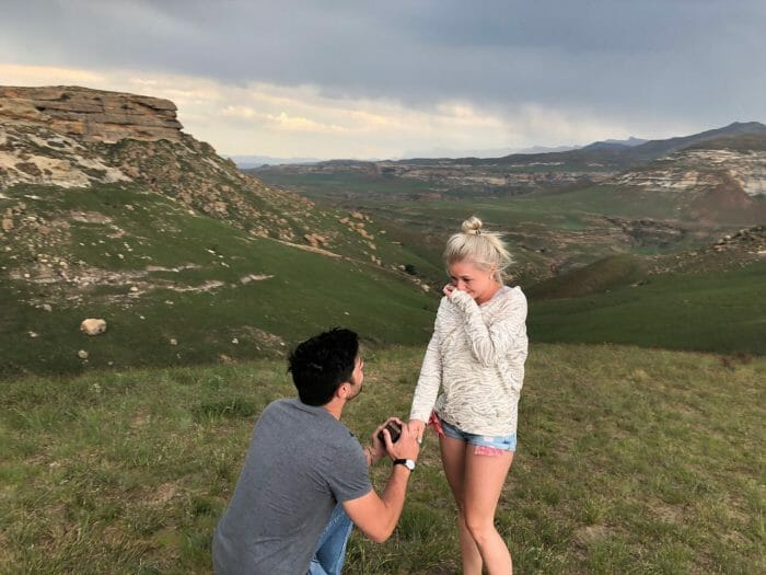 Engagement Proposal Ideas in Golden Gates National Reserve, Clarens