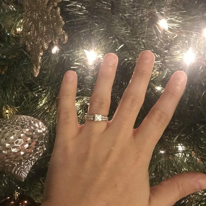 Proposal Ideas The proposal was at home! Chad proposed Christmas morning! I got my perfect Christmas wish!
