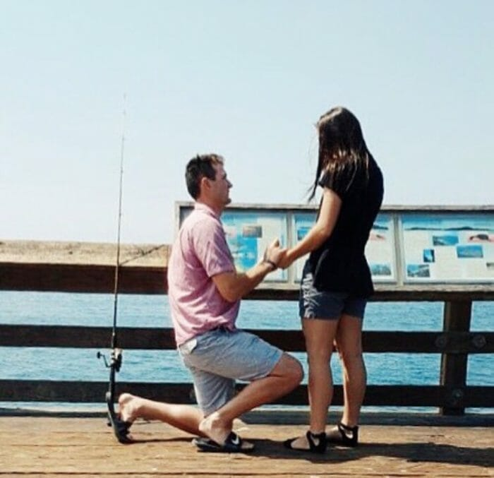 Proposal Ideas Our porpoise happened on the pier at Ventura beach, CA.