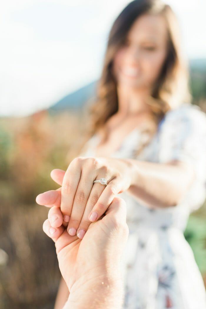 Megan's Proposal in Winthrop, WA