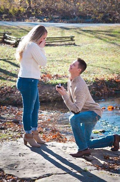 Sara's Proposal in Locust Grove, Ok