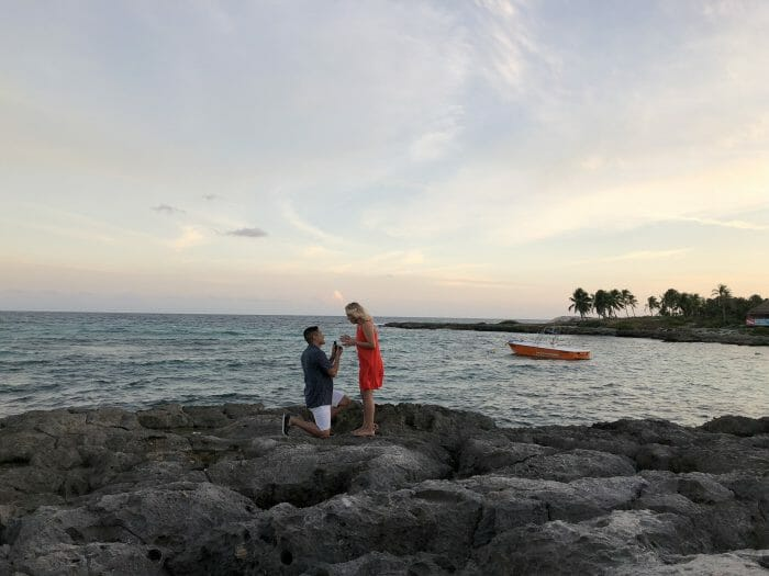 Sheila and David's Engagement in Riviera Maya, Cancun