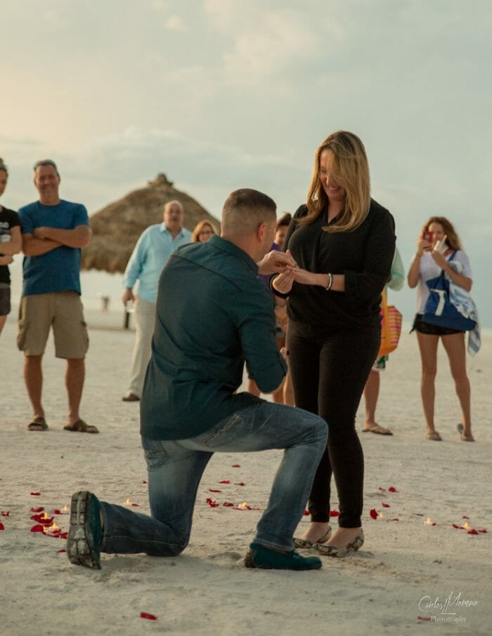 Gabbi and Jaret's Engagement in Marco Island, FL