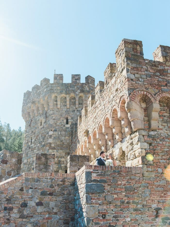 Where to Propose in Castello di Amorosa, Napa, California