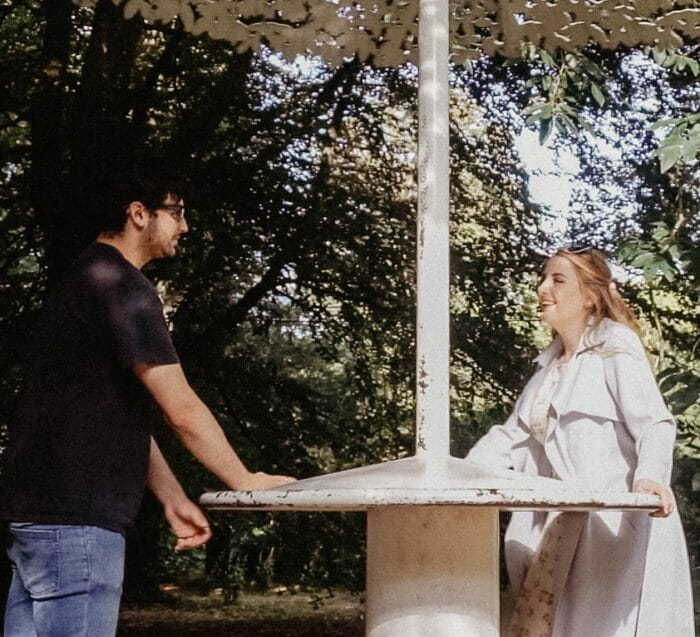 Wedding Proposal Ideas in Outside our local church